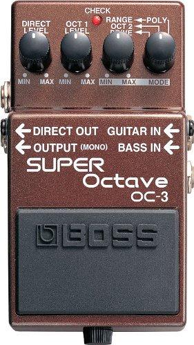 OC3 Super Octave Pedal