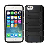 TeckNet® New Apple iPhone 6 Protective Tough Armor Case For Apple iPhone 6, 4.7 inch, Sep 2014 Release - Black