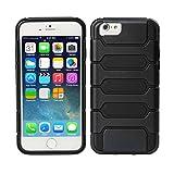 TeckNet® New Apple iPhone 6 Plus Protective Tough Armor Case For Apple iPhone 6 Plus, 5.5 inch, Sep 2014 Release - Black
