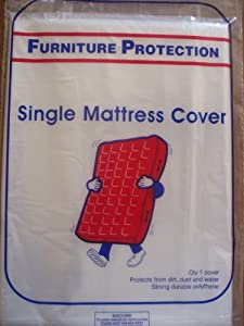 MATTRESS COVER Single for Moving or Storage