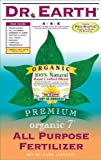 Dr. Earth 734 Organic 7 All Purpose Fertilizer, 25-Pound