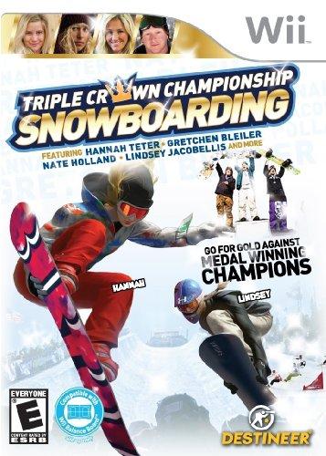 Triple Crown Snowboarding - Nintendo Wii - 1