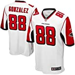 Nike NFL Youth Atlanta Falcons TONY GONZALEZ # 88 Game Jersey, White by Nike