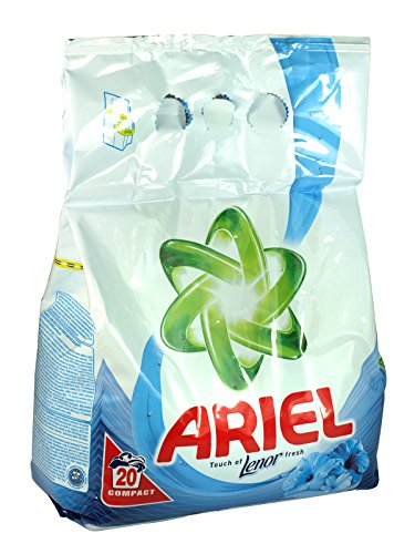 5 x Ariel Washing Powder 20 Wash Pack With Lenor Fresh