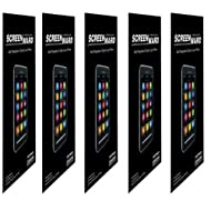 (Pack Of 5) Screen Protector Scratch Guard For Motorola Defy Mini