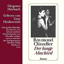 Der lange Abschied Hörbuch von Raymond Chandler Gesprochen von: Gert Heidenreich