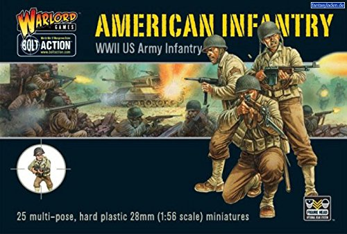 Us Infantry Military Miniatures