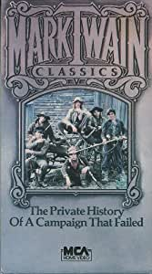 mark twain classics the private history of a campaign that failed vhs joseph. Black Bedroom Furniture Sets. Home Design Ideas