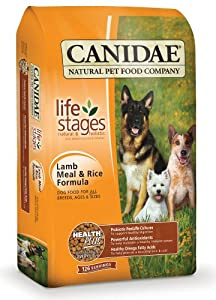 Canidae Dry Dog Food, Lamb Meal and Brown Rice Formula, 15-Pound Bag