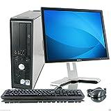 Windows 7 - Dell OptiPlex Computer Tower with Dell Monitor - Intel Core 2 Duo CPU -  250GB Hard Drive - 4GB RAM