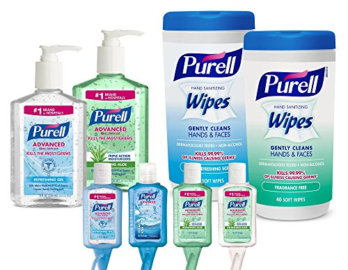 PURELL 9120K1ECEA On The Go Hand Sanitizer Kit, Assorted