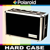 Polaroid Roadie Series Professional Hard Case For The Sony HDR-CX760V, PJ760V, PJ710V, CX210, PJ260V, TD20V, DCR-SC44, SX63, SR68, SR88, SX8, SX65, SX45, SX85, CX130 Handycam Camcorder