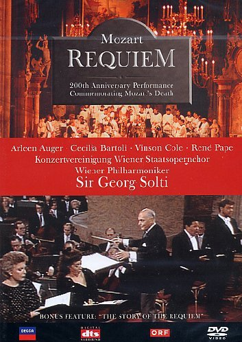 Mozart: Requiem - Wiener Philharmoniker (Solti) [DVD] [2002]