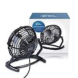 CSL - desk-fan / Fan to connect i.e. with the PC   desk fan / Fan   PC / Notebook   black