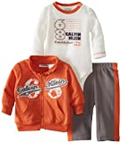 Calvin Klein Baby-Boys Newborn Jacket With Bodysuit And Pants