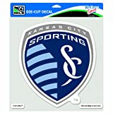 MLS Sporting Kansas City 8-by-8 Inch Die Cut Colored Decal