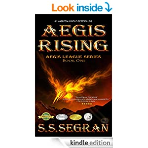 AEGIS RISING (Teen/YA - Action Adventure, Fantasy) (The Aegis League Series Book 1)