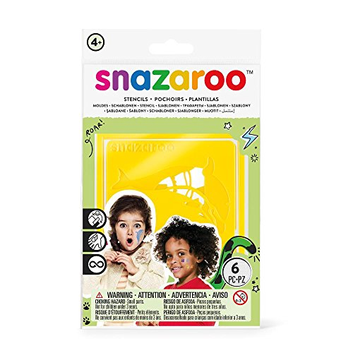 Snazaroo Rainbow Stencils - Set of 6 - 1