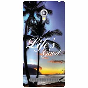 Asus Zenfone 6 A601CG Back Cover - Life Is Good Designer Cases