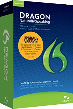 Dragon NaturallySpaking Premium 12.0, Upgrade from Premium (PC)