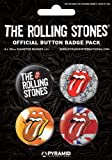 Rolling Stones - Button Set Rolling Stones (in 3,8 cm)