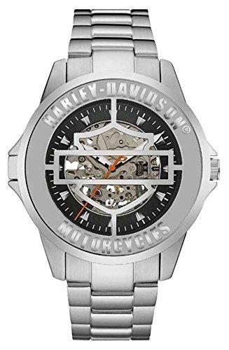 Harley-Davidson-Orologio da uomo automatico Cover Watch 76A154