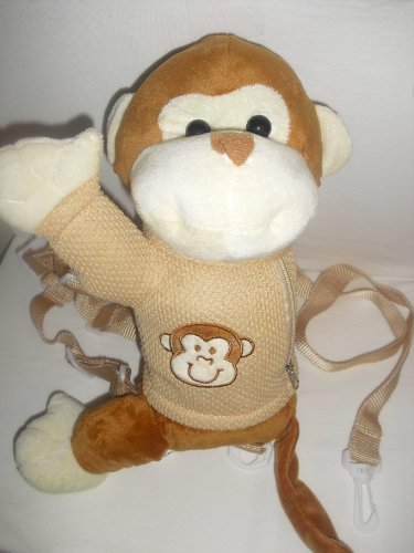 Monkey Child Safety Harness Leash Backpack front-180851