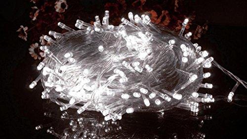 Bloomwin-Ghirlanda Tubo Luminoso Tenda Catena LED Flessibile Decorativo 50m 400 LED Natale/ Matrimonio/ Casa/ Party
