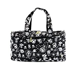 Ju-Ju-Be Superstar Travel Duffel Bag with Zippered Pockets, The Kings Court from Ju-Ju-Be