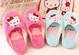 Hello Kitty House Keeping Slippers Shoes Pink