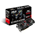Asus Strix-R9380-DC2OC-2GD5-GAMING AMD Gaming Grafikkarte (PCIe 3.0 x16, 2GB DDR5 Speicher, HDMI, 2x DVI, DisplayPort)