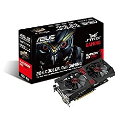 Asus STRIX-R9-380-DC2OC-4GD5-GAMING Graphic Card 4 GB GDDR5 - PCI Express 3.0 - Dual Slot