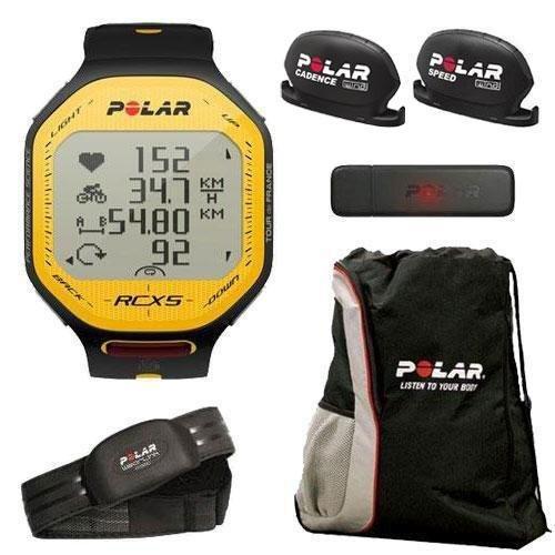 Cheap Polar 90045399 RCX5 Tour de France BIKE With Cinch Bag (90045399KT1)
