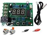 高精度 サーモスイッチ サーモスタット デジタル温度計 セット 日本語マニュアル 付属