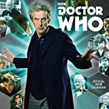 Doctor Who Classic Edition Official 2018 Calendar - Square Wall Format