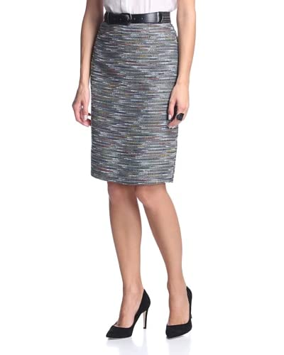 Tahari by ASL Women's Henry Pencil Skirt with Belt
