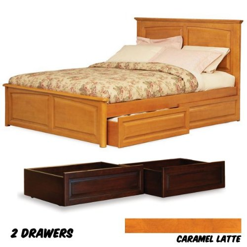 Furniture bedroom furniture frame raised frame for Raised full bed frame