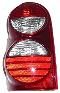 JEEP LIBERTY TAIL LIGHT LEFT (DRIVER SIDE) (WITHOUT GUARD) 2005-2007
