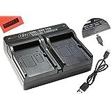 EN-EL15 ENE15 Dual Rapid Battery Charger For Nikon 1 V1 D600 D610 D750 D800 D810 D810A D7000 D7100 D7200 Digital...