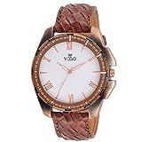 Vego Analog white Watch For Men's (AGM 134)