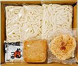 せい麺やの讃岐きつね・天ぷらうどん3食セット【生麺 香川県 さぬき】