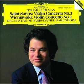 Saint-Sa�ns: Violin Concerto No.3 / Wieniawski: Violin Concerto No.2