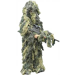 Kids/childrens Ghillie Suit 3d Body Camo Army Cadet S/m by OV