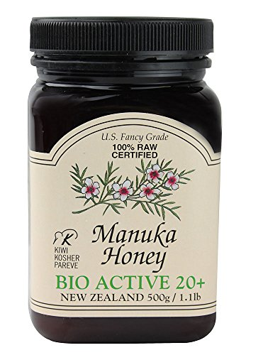 Manuka 20 + Bio Active, 1.1 Pound Jar (20 Percent Hydrogen Peroxide compare prices)