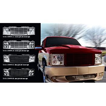 92 99 chevy tahoe custom grille kit range. Black Bedroom Furniture Sets. Home Design Ideas