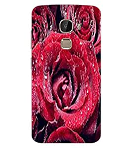 ColourCraft Lovely Roses Design Back Case Cover for LeEco Le 2 Pro