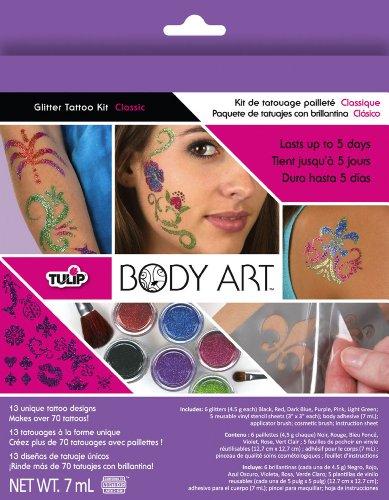 Tulip Body Art Glitter Kit, Classic front-216693