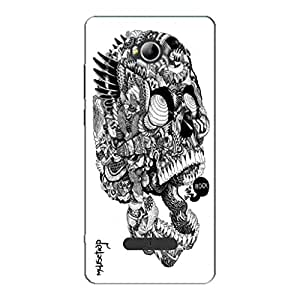 DESIGNER BACK COVER Micromax Canvas Spark 3 Q385