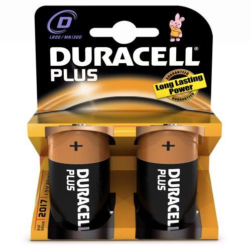 Peterkin Duracell Plus D 2 Pack