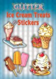 Glitter Ice Cream Treats Stickers
